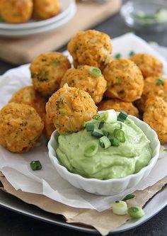 Buffalo Chicken Broccoli Cheddar Bites