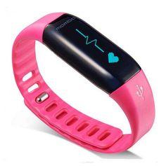 Lifesense Lexin Mambo HR Smart Band OLED Screen Bluetooth4.0 Heart Rate Pedometer Sleep Monitor IP67 Waterproof Wristband