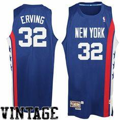 adidas Julius Erving New York Nets Soul Swingman Throwback Jersey - Royal  blue size xl Nba d302cc98a