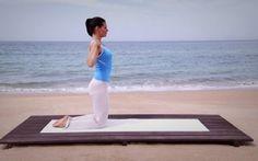 Durch kräftigende Rückenübungen die Muskulatur stärken ...