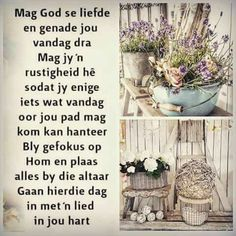 Morning Messages, Morning Greeting, Goeie More, Everyday Quotes, Special Quotes, Bible Quotes, Bible Verses, Scriptures, Good Morning Inspiration