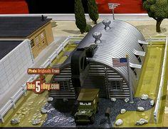 Next Mattel Disney Pixar CARS Precision Series Playset - Sarge Surplus Hut