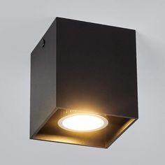 Buy Carson - surface-mounted ceiling spotlight, black at Lights. Grey Ceiling, Ceiling Lamp, Bakery Shop Design, Spot Plafond, Focus Light, Ceiling Spotlights, Wall Lights, Ceiling Lights, Bedroom Designs