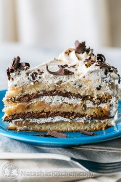 This almond nutella cake walks on the wild side. It's a flavor explosion – combining the best of some of my favorite deserts. It has the coffee goodness of a tiramisu cream with the nutty sweetness of macaroons and is laced with chocolatey nutella. The layers are kind of...