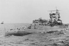 De kruiser Hr. Ms. De Ruyter zonk in 1942 bij de slag om de Javazee