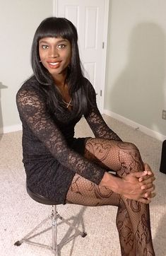 Hi have always liked black girls hope i can friend more dark women to join our crossdresser boards , as you can see in the pictures even black trannys look good Pretty Men, Pretty Boys, Petticoated Boys, Sissy Boys, Sissy Maid, Men Wearing Dresses, Feminized Boys, Girly, Transgender Girls