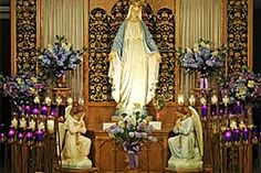 Our Lady of Good Help Shrine in Champion, WI. Very peaceful there. Only approved apparition site in the United States.