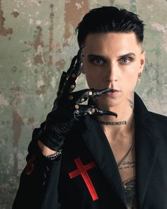 Black Veil Brides Andy, Just Deal With It, Andy Black, Andy Biersack, Most Beautiful Man, Man Crush, Handsome, Celebrities, Lady