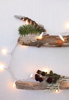 DIY Alternative Christmas Tree – Small Space Christmas Trees   Free People Blog #freepeople