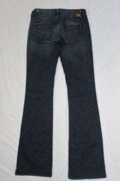 77e554e7 Dark Blue Diesel Pants Jeans Classic Denim Boot Cut Legs New Women Louvely  Fashion Size W25 L32