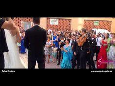 Sorpresa del Novio a la Novia en la Iglesia, Perico y Alicia, La Raya (M...