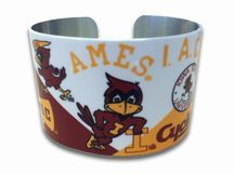 ISU Alumni Association - PS300 ISU Cuff Bracelet - I need this or need to give it to people as a gift!