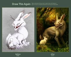 Draw this again challenge by vesner on DeviantArt