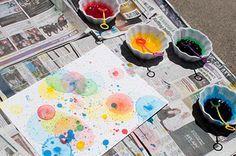 Seifenblasen Kunst für Kinder..ä
