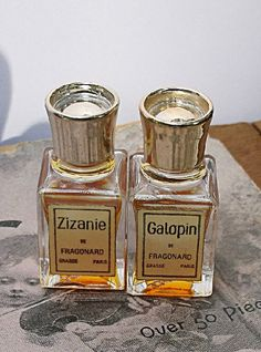 Vintage Fragonard Perfume Zizanie Galopin by CrowsCottage on Etsy, $30.00