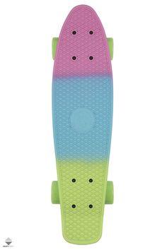 Cruiser Fish Skateboards Classic Trójkolorowy