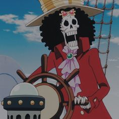 Brooks One Piece, One Piece 1, One Piece Anime, One Piece Wallpaper Iphone, The Pirate King, Anime Profile, Darling In The Franxx, Gaara, Mickey Mouse