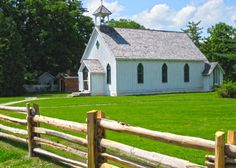 White Meadows Farms is located close to this beautiful chapel in Ball's Falls #niagara