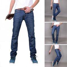 New Arrival #Mens Designer #Jeans Luxury Classic Slim Fit Casual Jeans #Pant Men #Fashion Straight Denim Biker Jeans Men Pants