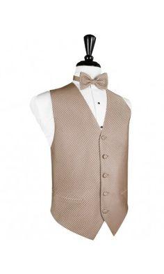 Palermo Latte Tuxedo Vest