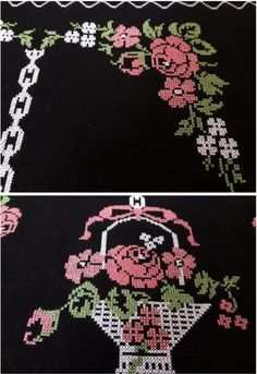 Prayer Rug, Cross Stitch Flowers, Diy And Crafts, Alphabet, Prayers, Cross Stitch Embroidery, Towels, Craft, Table Runners