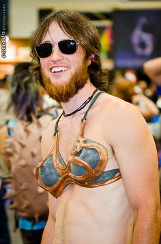 Ahck! My eyes! Slave Leo from the San Diego Comic Con