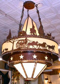 Cherokee Iron Works | Rustic & Western Lighting | Rustic & Western…