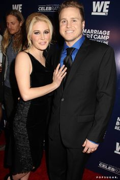 Pin for Later: Can't-Miss Celebrity Pics!  Heidi Montag and Spencer Pratt attended the Marriage Boot Camp premiere in LA on Thursday.