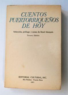 Image Detail for -Cuentos puertorriqueños de Hoy: Abelardo Díaz Alfaro, José Luis González, René Marqués ...