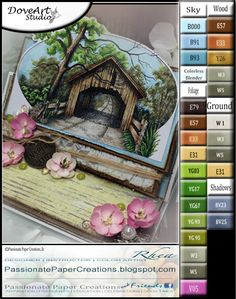 Passionate Paper Creations: Covered Bridge - DoveArt Studios