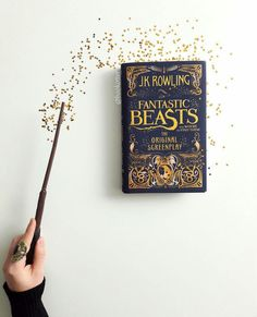 Fantastic Beasts Original Screenplay from J.K. Rowling - another early Christmas present from Rowling to all the grown up and not so grown up children in the world!