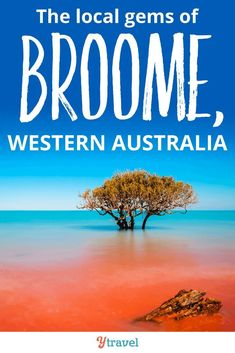Discovering the local gems in Broome, Western Australia.