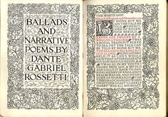 Typography by William Morris.  via Sylvain Savouret