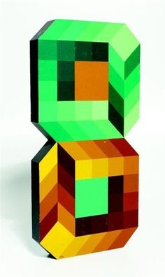 Artworks of Victor Vasarely (Hungarian, 1908 - 1997)