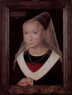 Hans Memling. Portrait of a young woman
