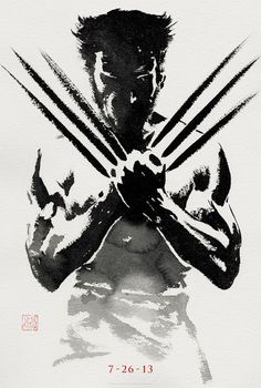 Awesome new teaser poster for The Wolverine! Starring Hugh Jackman, directed by James Mangold. Watch the Q.