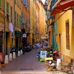 rue de la Barillerie - Nice, France