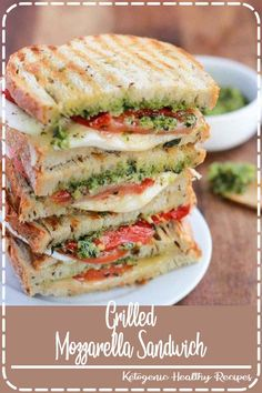 Homemade Grilled Mozzarella Sandwich with Walnut Pesto and Tomato that s easy to assemble and bursting with flavor - lunch never looked so good Pesto Sandwich Mozzarella Sandwich Italian Sandwich mozzarella sandwich pesto cheese feelgoodfood # Pesto Sandwich, Grilled Sandwich, Tomato Mozzarella Sandwich, Mozzerella, Cooking Recipes, Healthy Recipes, Easy Recipes, Recipes Dinner, Grilled Recipes