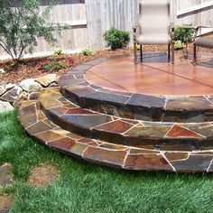 stamped concrete patio | Stamped Concrete Sacramento, Decorative Concrete Sacramento