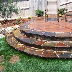 stamped concrete patio | Stamped Concrete Sacramento, Decorative Concrete Sacramento