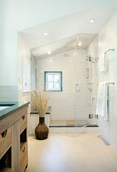 Shornecliffe Residence Bath Shower - contemporary - bathroom - boston - LDa Architecture & Interiors