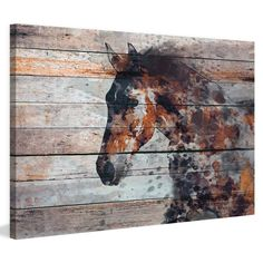 Marmont Hill Fire Horse Painting on Wrapped Canvas | from hayneedle.com