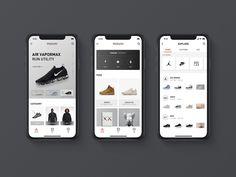 Redesign for poison app by twei.l ux ui design App Ui Design, Mobile App Design, Mobile Ui, Pegboard Craft Room, Nike App, App Home, Ui Design Inspiration, Shop Front Design, Ecommerce App
