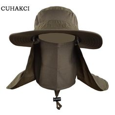 Men And Woman outdoor Fishing Mountaineering Jungle funny blank bucket hat cap for Neck face protection visor Wind sand