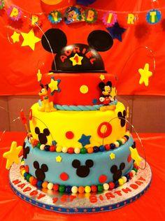 Mickey Mouse Birthday Cake!