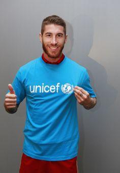 Sergio Ramos wurde gestern zum neuen Botschafter von  UNICEF España ernannt :)