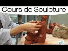 Comment réaliser un modelage Sculpture Techniques, Ceramic Techniques, Art Techniques, Sculptures Céramiques, Sculpture Clay, Fondant Figures Tutorial, Pottery Handbuilding, Creta, Terracota