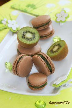 Kiwi, Macarons, Gateaux Cake, Biscotti, Sushi, Buffet, Baking, Fruit, Eat