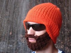 I don't knit/crochet/whatever this is, and I don't need a beard. I got that covered. Nevertheless, this is bad ass.