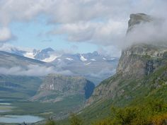 Sarek National Park | Skierffe and Nammasj. Sarek National Park, Sweden Sverige | Flickr ...